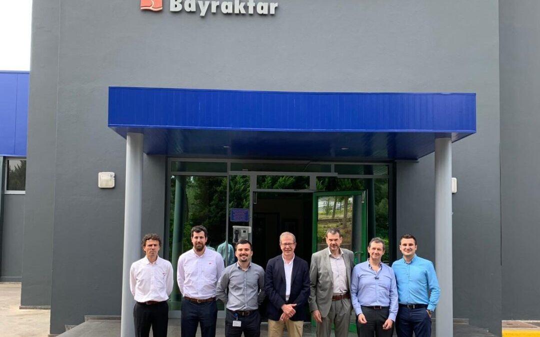 Visita comercial a Ege Endüstri en Esmirna, Turquia