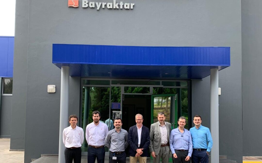 Visita comercial a Ege Endüstri a Esmirna, Turquia